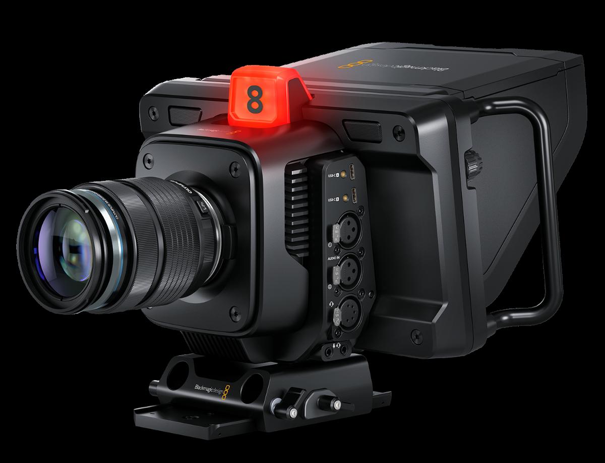 New $1295 - $1795 Studio Cameras from Blackmagic Design