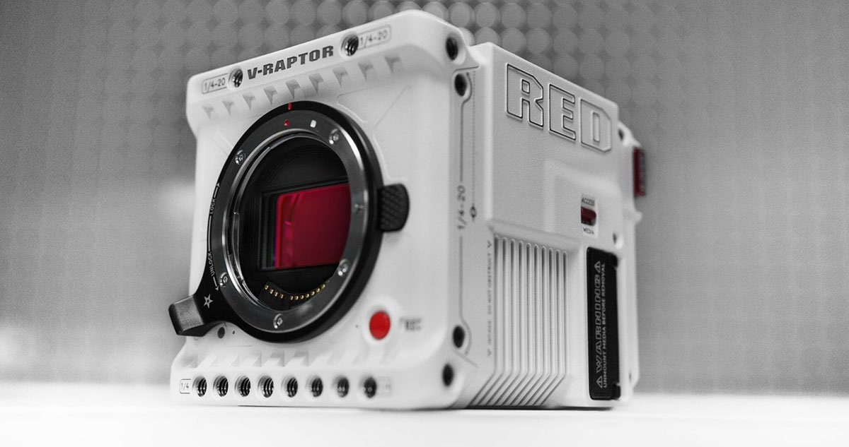 RED's New V-RAPTOR 8K VV